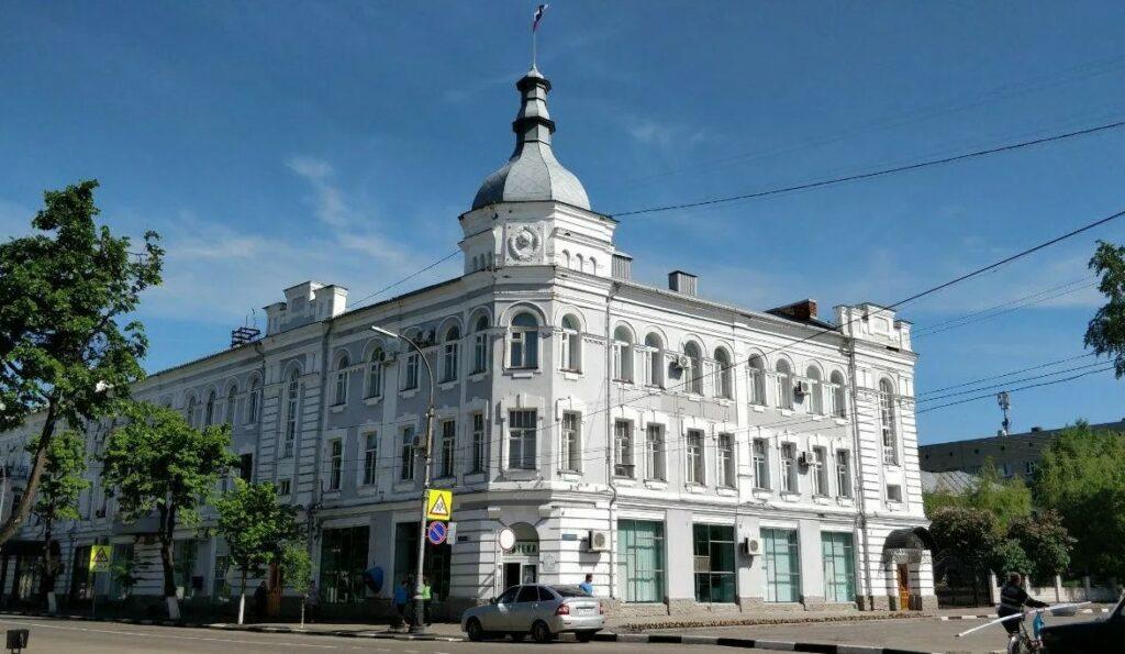 Фото администрации Мичуринска Тамбовская область.