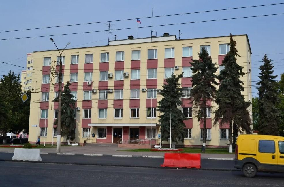 Фото. Административное здание в Твери, где расположена администрация Пролетарского района.