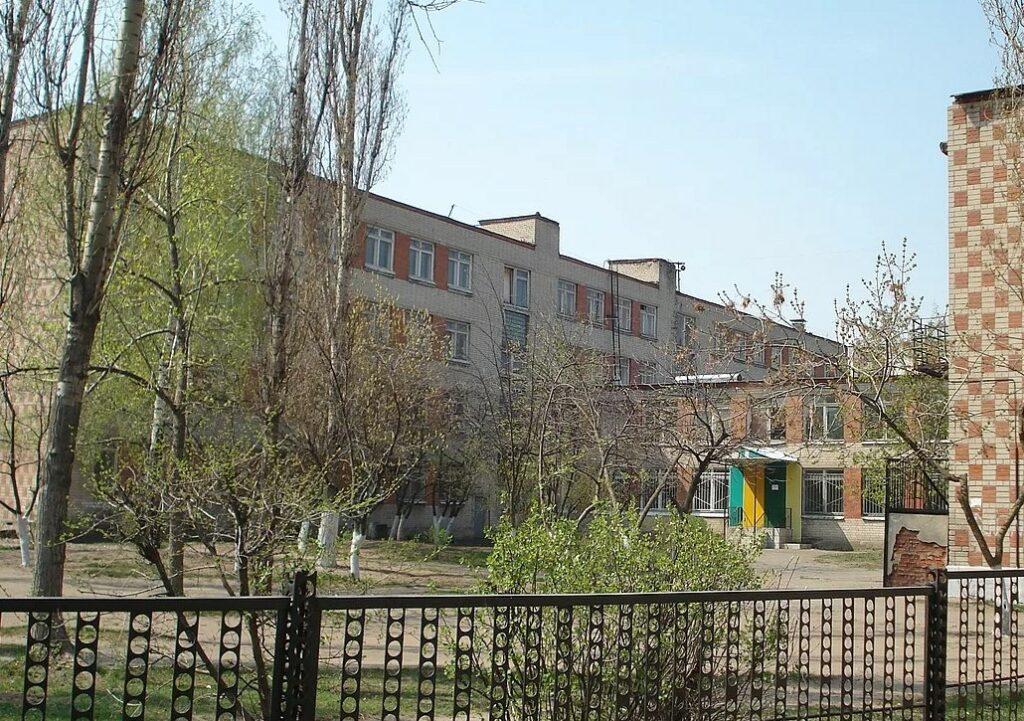 Фото средней школы № 75 в городе Воронеж.